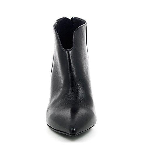 stub mujer negro NOIR zapatos de Nero talón arranque del postal CAF HT107 x4Yw6U