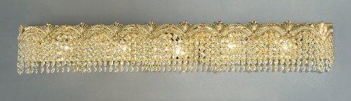 Classic Lighting 1853 G S Regency II, Crystal, Vanity Lighting, 4