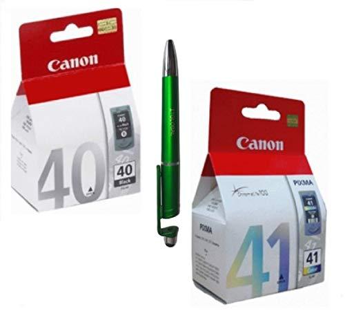 Canon PG 40   CL 41 Ink Cartridge Combo Compatible with PIXMA iP1200 1300 1600 1700 1880 1980 2200 2580 2680 IP 6210D 6220D 6320D JX201/210P Printers