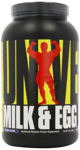 Universal Nutrition Milk and Egg, Vanilla Flavor, - Protein Egg Powder Milk