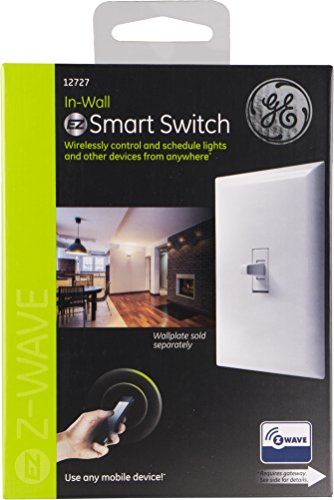 Ge Z Wave In Wall Smart Light Switch Toggle