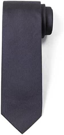 Origin Ties Solid Color 100% Silk Men's Skinny Tie