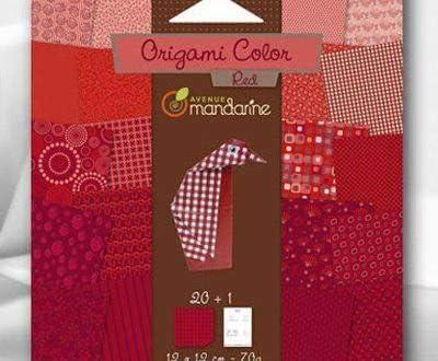 Art Origami Cut Paper Craft Supplies Craft Origami 20pcs Avenue Mandarine Art Paper Red Origami 12x12cm Scrapbooking Technique