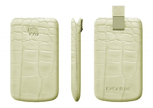 Katinkas Premium Size 7 Leder Case Crocodile sand
