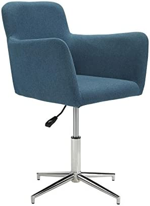 Montoya Adjustable Dining Chairs Chrome and Blue Set of 2