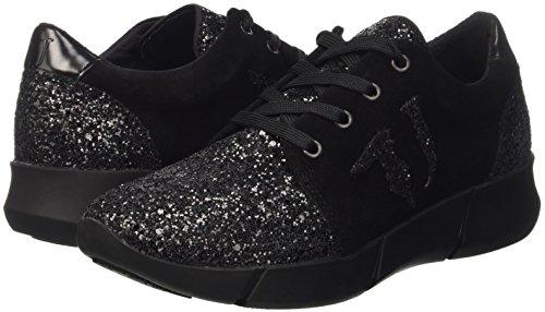 Trussardi Jeans Femme Chaussures Basses Noir nero 79s26051 1aqwxr1