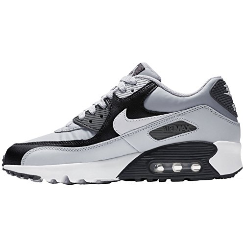 Shoe Leather Big Air Nike White Grey GS Kids Kid's Max Wolf 9 AxqSIS8