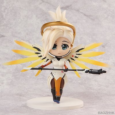 Costume Quest Gameplay (Shalleen Overwatch Anime Cute Mercy PVC Figure Ow Stand Model Toy With Box)