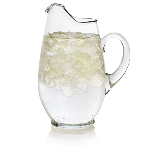 Libbey Mario Glass Pitcher, 90-ounce