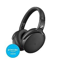 Sennheiser HD 4.50 Special Edition - Auricular circumaural inalámbrico con cancelación de ruido, color negro mate