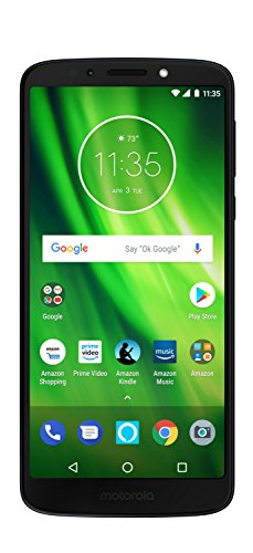 Moto G6 Play with Alexa Push-to-Talk - 32 GB - Unlocked (AT&T/Sprint/T-Mobile/Verizon) - Deep Indigo - Prime Exclusive Phone