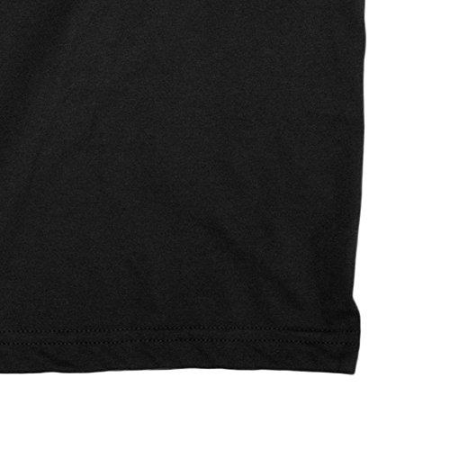 Cotone George Best Lamaglieria Uomo Gb04 Nero 100 shirt Maglietta T q77AOH