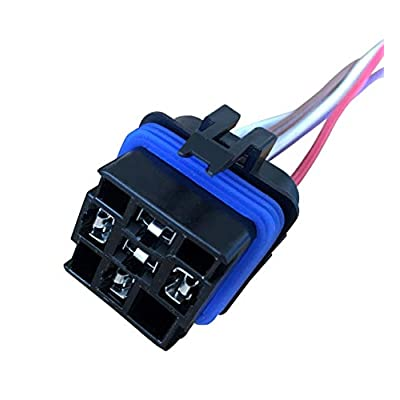 A-Team Performance Automotive Change-Over Relay 5-Pin Terminal Waterproof General Purpose 12 Volt 40 Amp and 12-Inch Connector Pigtail Set Sealed Unit: Automotive
