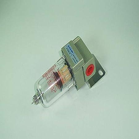 Riloer AF2000-02 Mini Filtro Separador de Agua Compresor de Aire Procesador de Fuente de Gas
