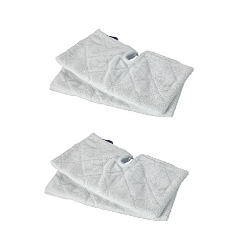Hikvision Generic 4pcs Replacement Shark Europro Steam Mop Microfiber Pads S3550 ,S3901