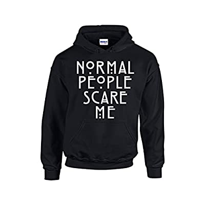Normal People Scare Me Funny Fashion Unisex Pullover Hoodie Hooded Sweatshirt for sale