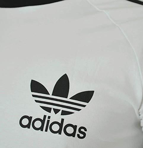 corta Sport Adidas T Essentials shirt manica bianca da nera uomo AZZTwq