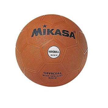 MIKASA 4009 - Balón de Balonmano, Color Naranja, Talla 2: Amazon ...