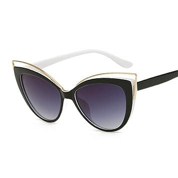 LAMAMAG Gafas de sol Gafas de Sol con Forma de Ojo de Gato ...