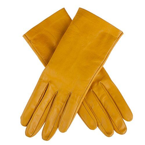 Lundorf Women's Flora Unlined Gloves Danish Design 8 Warm yellow by Lundorf