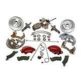 SSBC A123-1C Front Drum to Disc Brake Conversion Kit
