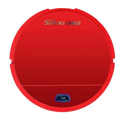 Robot Vacuum Cleaner Sweeping and Mopping Robotic Vacuum Cleaning Dust and Pet Hair, Strong Suction Route Planning on Hard Floor, Carpet and All Floor Types