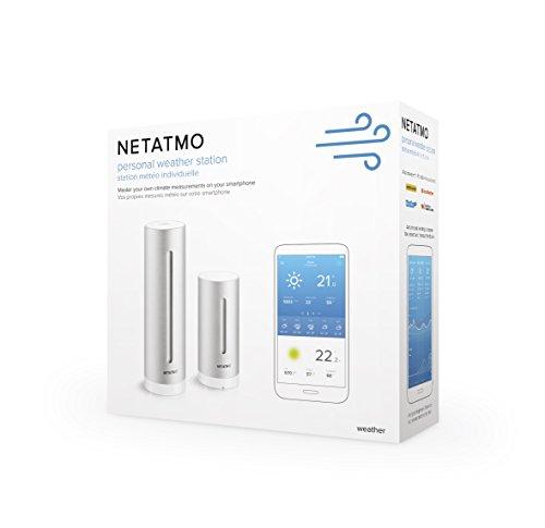 Netatmo Weather Station for Smartphone, Compatible with Amazon Alexa