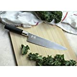 Kai Wasabi Black Chef's Knife, 8-Inch