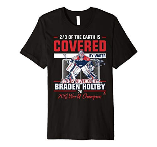 - Braden Holtby 1/3 Of The Earth T-Shirt - Apparel