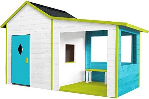 Soulet Igor - Casa de juegos para jardín (madera): Amazon.es: Bricolaje y herramientas