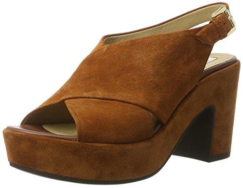 Zaferly De D Tacón brownc0013 Sandalias Marrón Mujer Geox Para B ZvwqxwB65