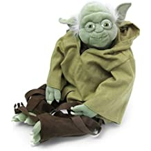 Toy / Play Comic Images Yoda Buddies Backpack Plush. Bag, Plush, Fabric, Soft, Cuddly, Doll, Stuffed Game / Kid / Child by JOY-OUTLET by JOY-OUTLET