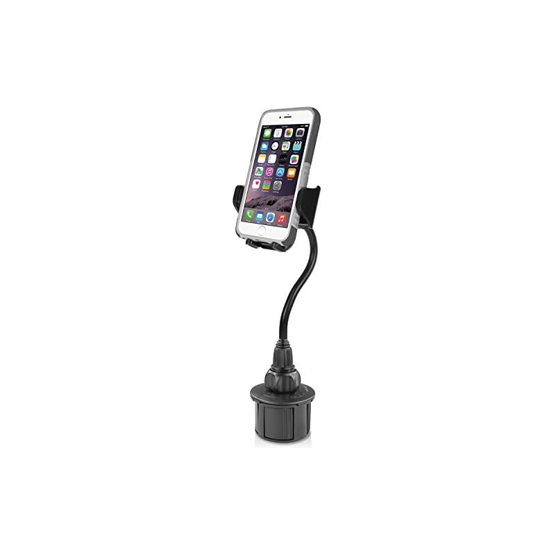 Macally Car Cup Holder Phone Mount with