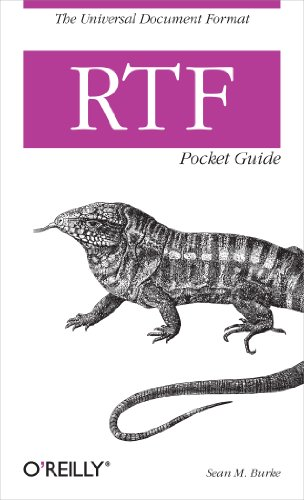 RTF Pocket Guide: The Universal Document Format Epub