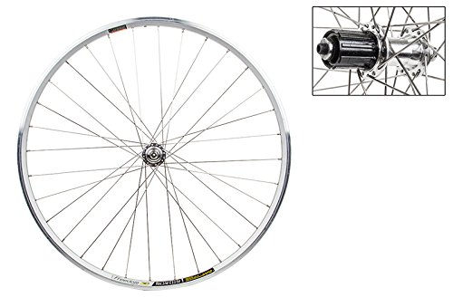 WheelMaster Rear Bicycle Wheel, 700 WTB FREEDOM RACINE ELITE SL MSW 32 WM ALY 8/10sp CASS SL 130mm DTI2.0BK by WheelMaster