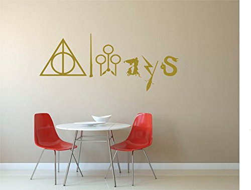 Always Harry Potter Quote Wall Decal Geekerymade