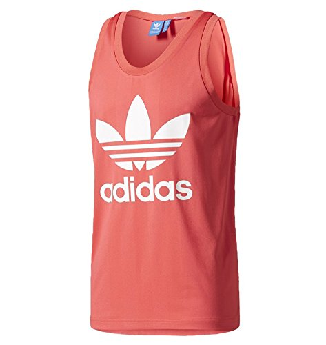 adidas Trefoil Tank CORPINK CF5310 Size M by adidas