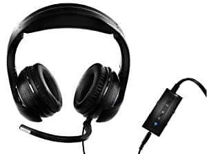 Guillemot - Auriculares Y-250 CPX (PS4/PS3/Xbox 360/PC)