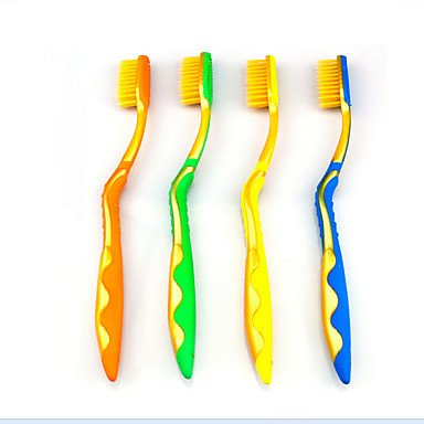 MU 4 PCS Professional Health Care Nano Toothbrush Set for Travel