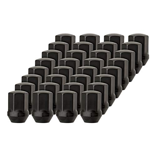 DPAccessories LCB3D8HEOBK04032 32 Black Lug Nuts for Chrysler 300 Dodge Charger Challenger - Replaces 6509422AA Wheel Lug Nut