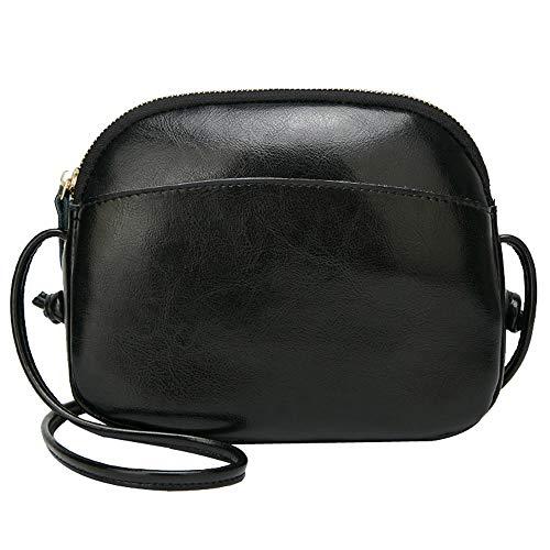 Sintética PN JJE3 Piel Bags Mujer preppy de Negro estilo Mounter 0n54Fq