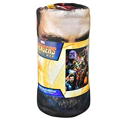 Marvel Avengers Infinity War 45x60 Fleece Throw Blanket
