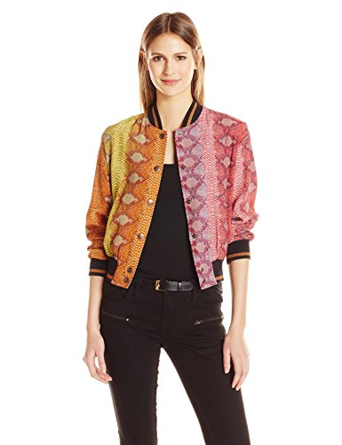 Just-Cavalli-Womens-Rainbow-Print-Bomber
