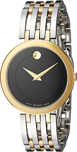 Movado Women's Swiss Quartz and Stainless Steel Casual Watch, Color Two Tone (Model: 0607053) ()