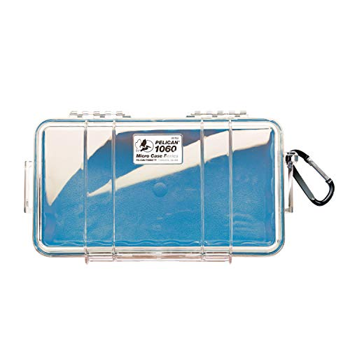 Waterproof Case | Pelican 1060 Micro Case - for iPhone, Cell Phone, GoPro, Camera, and More - Micro Case Pelican Blue