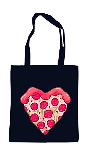 Pizza Love Bag Nero Maniaco Certificato