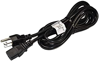 HQRP 10ft AC Power Cord fits Sony KDL-26S3000 KDL-32S3000 KDL-40S3000 KDL-46S3000 KDL-32SL130 KDL-40SL130 KDL-26S3000 KDL-32S3000 KDL-40S3000 Bravia LCD TV Monitor Mains Cable