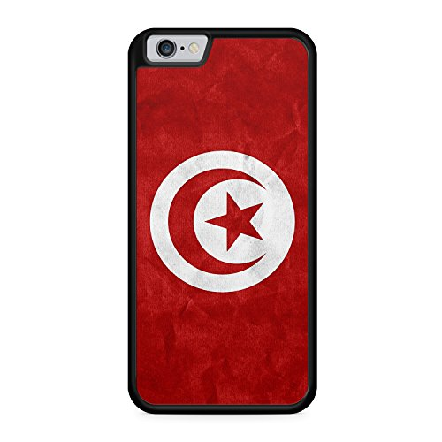 Tunesien Tunis Flagge Flag Apple iPhone 6 / 6S SILIKON BK Hülle Cover Case Schale