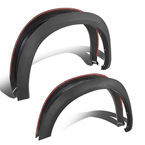 4Pcs OE Style Wheel Fender Flare Cover Kit for 10-18 Ram Truck 2500/3500