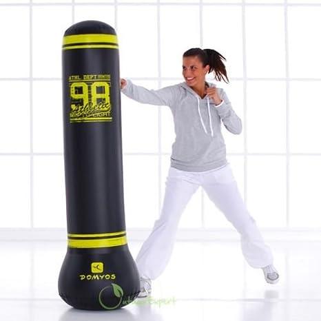 Amazon.com: 1 x Domyos adulto boxeo saco de boxeo inflable ...